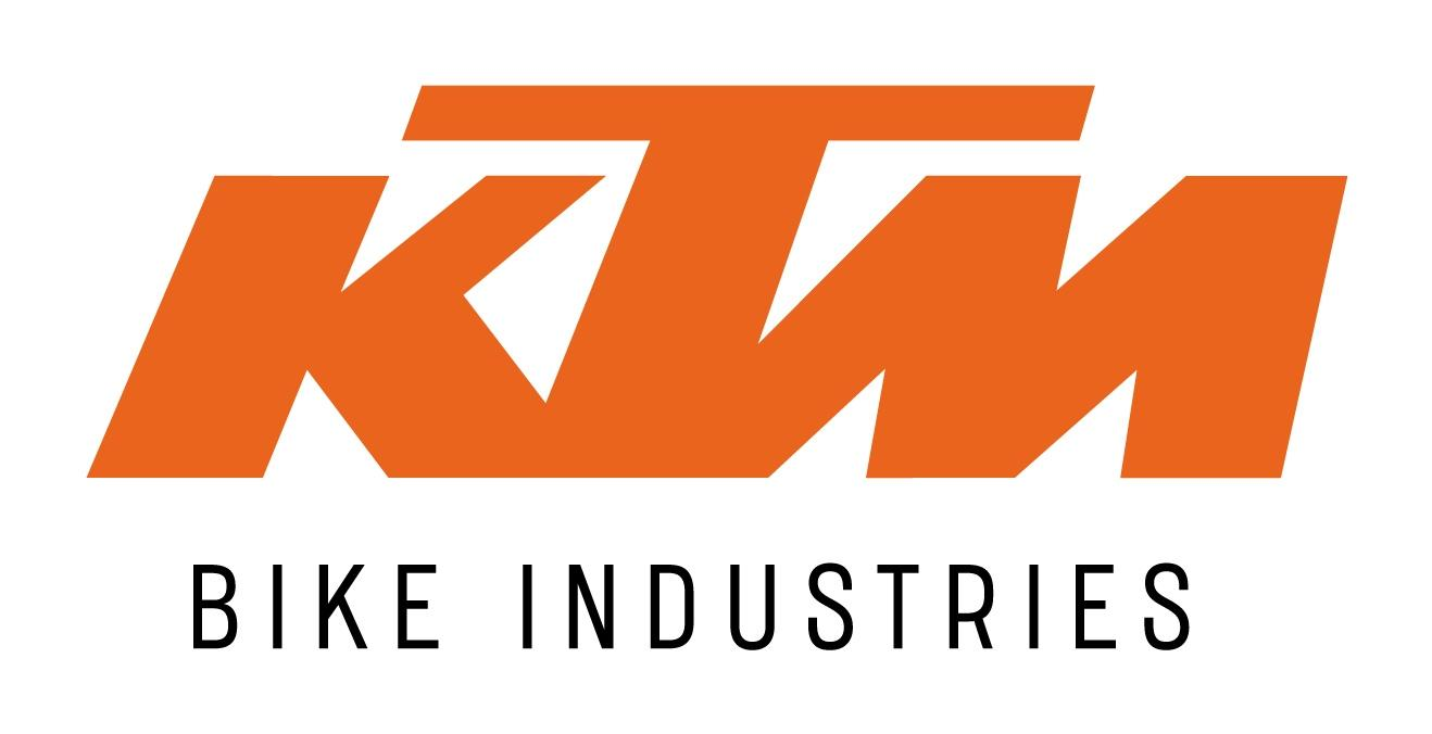KTM Logo 2Colour White